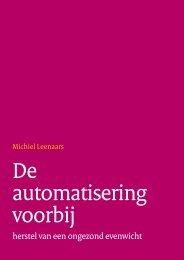 De automatisering voorbij - Forum Standaardisatie