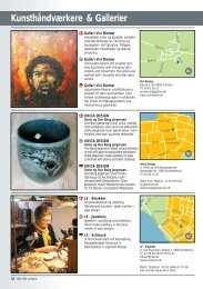 Kunsthåndværkere & Gallerier - Den lille turisme