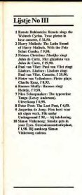 LXXX Lijstjes - Hans Vervoort - Page 7