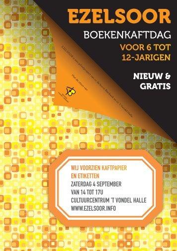 Ezelsoor Flyer VONDEL A5.indd - Gemeente Sint-Pieters-Leeuw