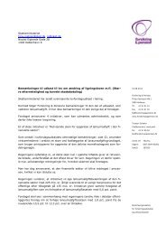 Vores svar (pdf) - Forsikring & Pension
