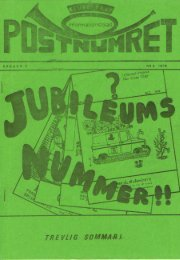 Postnumret nr 2/1976