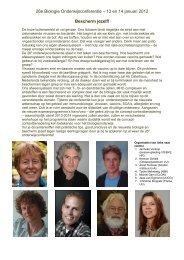 programmaboek - Nederlands instituut voor Biologie