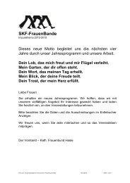 Jahresprogramm 2012 bis 2013 als PDF - Kath. Frauenbund Hasle