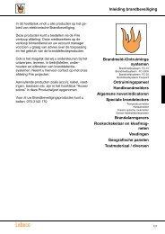 Inleiding brandbeveiliging Brandmeld-/Ontruimings ... - Lobeco