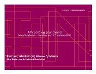 skrivebordskortlægning - ATV Jord og Grundvand