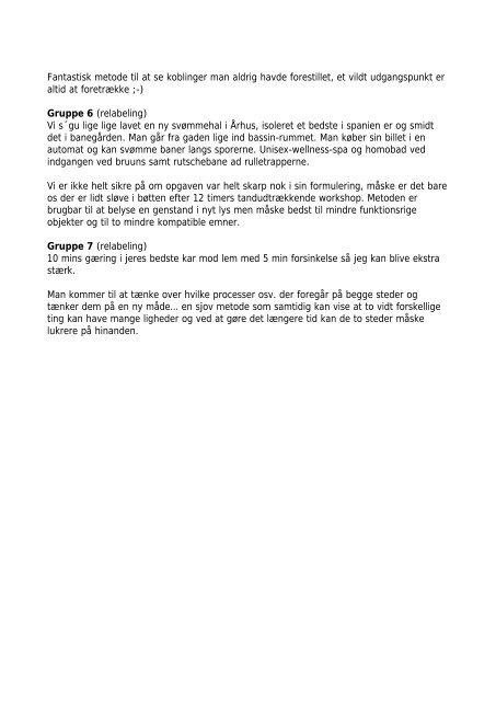BANEGÅRDENS BETYDNING Gruppe 1 (relabeling) - Rum