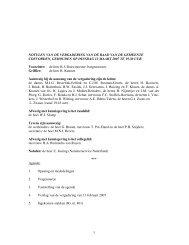 Verslag van de vergadering van 13 maart 2007 - Gemeenteraad ...