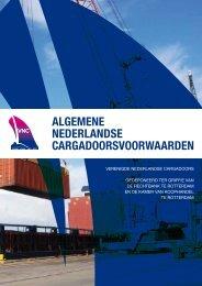 algemene nederlandse cargadoorsvoorwaarden - Vereniging van ...