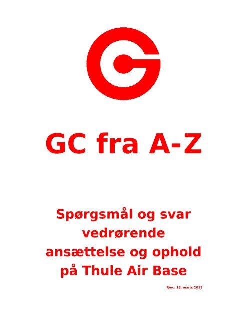 GC fra A til Z - Greenland Contractors
