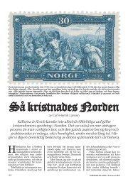Så kristnades Norden - Nordisk Filateli
