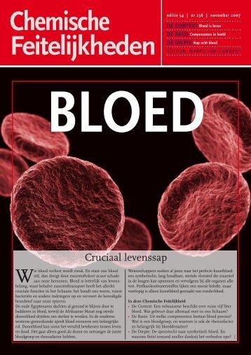 bloed - Chemische Feitelijkheden