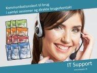 IT-Support (kommunikationskort) - Dialog Plus