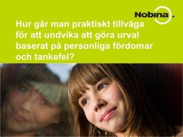 Presentation - Sveriges HR Förening
