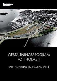 04. Gestaltningsprogram Pottholmen.pdf, 3098 kb - Karlskrona ...