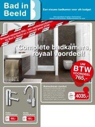 Complete badkamers, royaal voordeel! - Dominicus