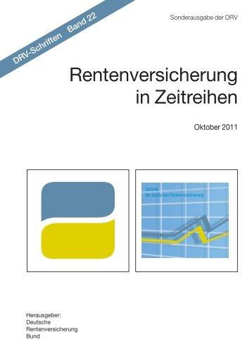 Rentenversicherung in Zeitreihen - Demografie-Blog