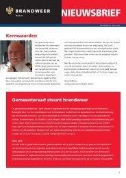 NIEUWSBRIEF - Gemeente Hoorn