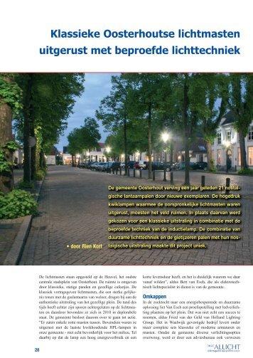 Klassieke Oosterhoutse lichtmasten uitgerust met ... - HlGbv.nl