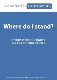Where do I stand? - Stichting Centrum