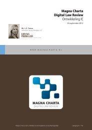 Fresco_Opmaak 1 - Magna Charta Digital Law Review