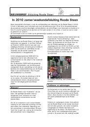 nieuwsbrief met uitgebreide informatie - Gemeente Hoorn