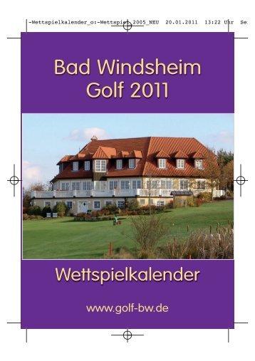 Bad Windsheim Golf 2011