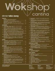 dinner take away - Wokshop