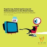 Regulierung, Selbstregulierung und Medienkompetenz ... - Kijkwijzer