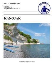 Nr. 4 - september 2005 - Kajakklubben Esrum Sø