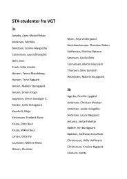 Se navnene på årets STX-studenter