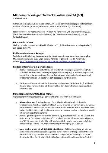 skolråd 110207.pdf - Solna stad