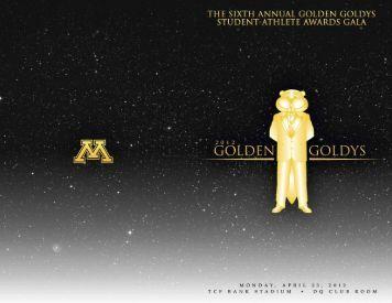 Academic Awards - Gopher Academics