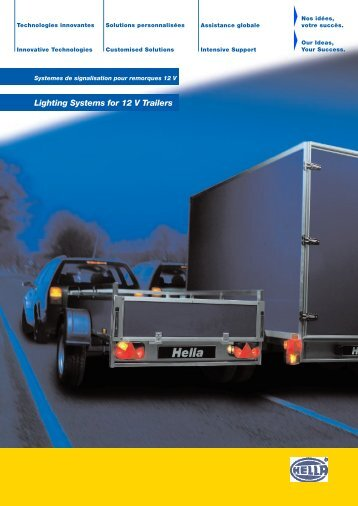 Lighting Systems for 12 V Trailers