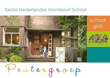 school gids - Eerste Nederlandse Montessori School