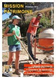 MISSION PATRIMOINE - Association Historique de Marcoussis
