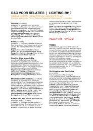 dag voor relaties | lichting 2010