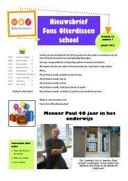 nieuwsbrief 7 2012-2013 - Basisschool Fons Olterdissen