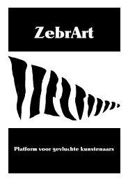 profielen ZebrArt-kunstenaars - Vluchtelingenwerk Vlaanderen