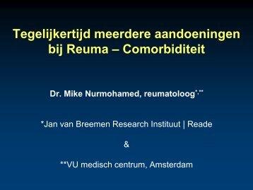 Tegelijkertijd meerdere aandoeningen bij Reuma ... - RPV