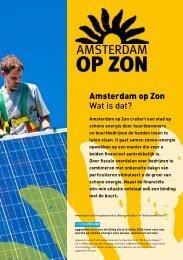 Amsterdam op Zon2 - Opgewekt.nu