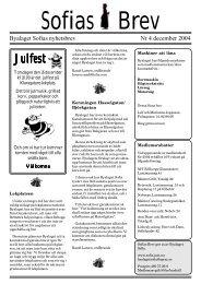 Sofias brev 2 2004.T65 - Byalaget Sofia