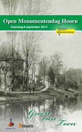 Groen van Toen - Gemeente Hoorn