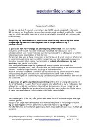 Printvenlig udgave - Pelsdyrrådgivningen.dk-Velkommen