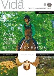 Malin Baryard Johnsson ett liv med hästar - Vida AB