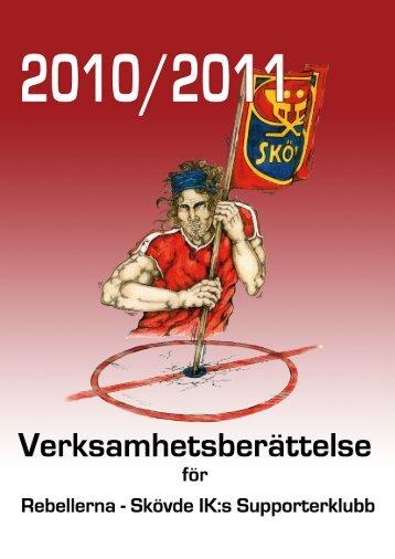 Verksamhetsberättelse 2010/11 - Rebellerna