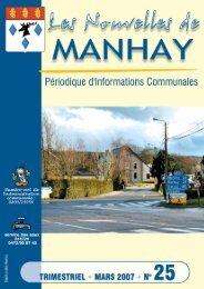 informations communales - Manhay