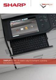 SIMPLIFYSCAN - Et stærkt valg til intelligent scanning