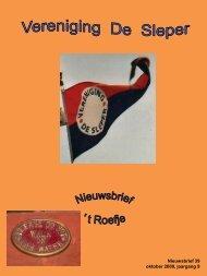 2009-10 Roefje 39 (pdf 1.7mb) - Vereniging De Sleper