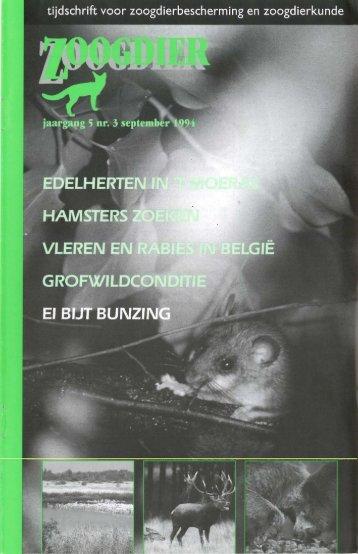 vereniging - Nieuw in de Zoogdierwinkel